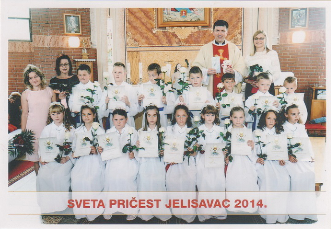 Prvopričesnici 2014. - Jelisavac (3)