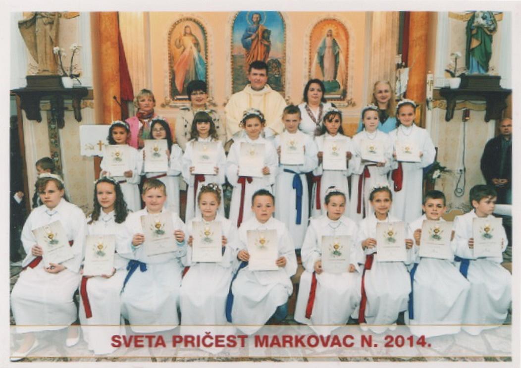 Prvopričesnici 2014. - Markovac Našički (3)