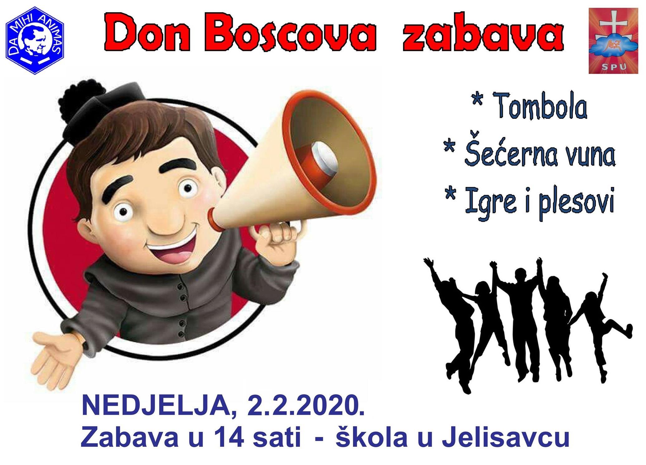 Plakat - Don Boscova zabava 2020