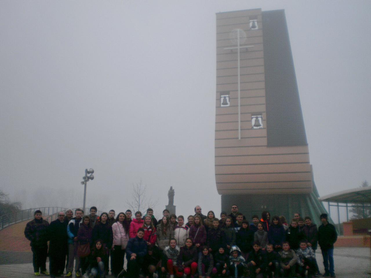 Ministrantsko hodočašće u Aljmaš - 7.1.2014.