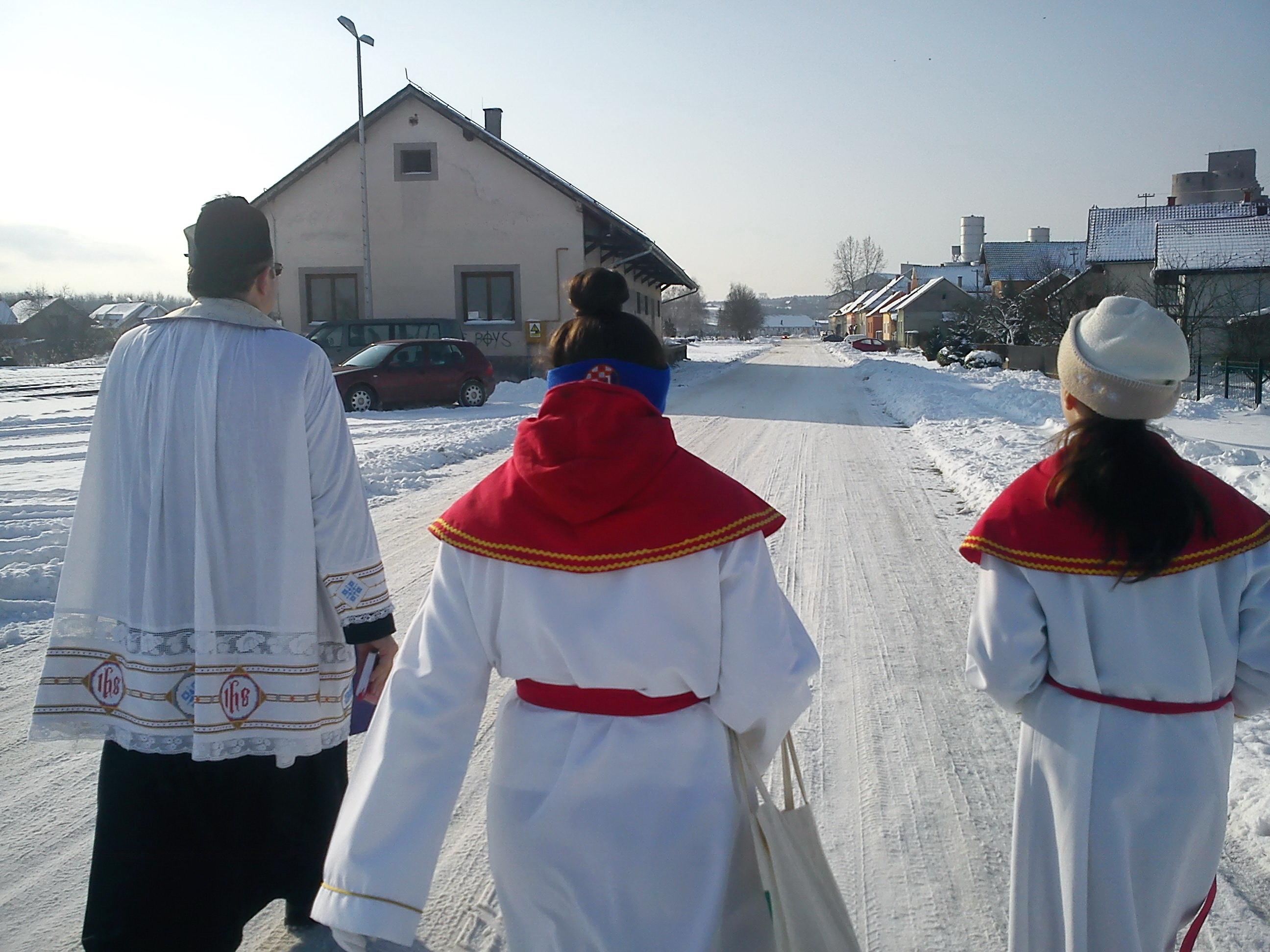 Blagoslov obitelji i domova 2014 sa župnikom Brankom (Markovac Našički) - 30.12.2014.