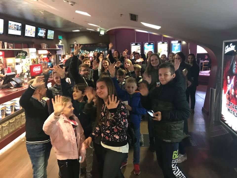 Izlet ministranata u kino Cinestar Osijek - 11.11.2017.