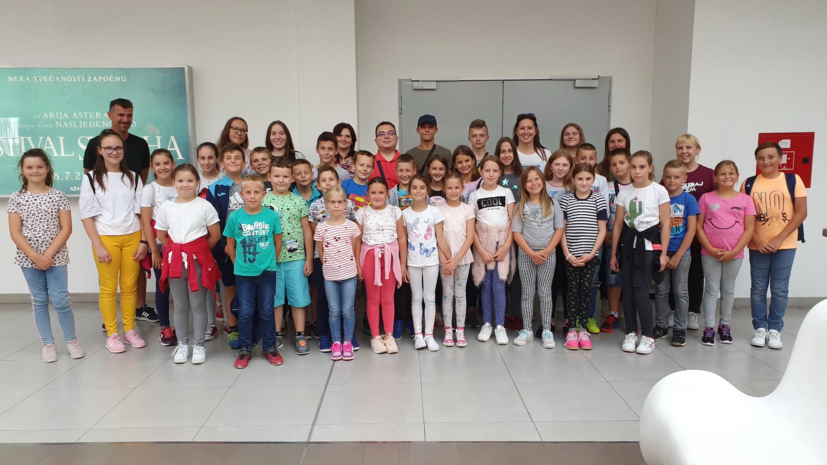 Izlet ministranata u kino Cinestar Osijek - 10.7.2019.